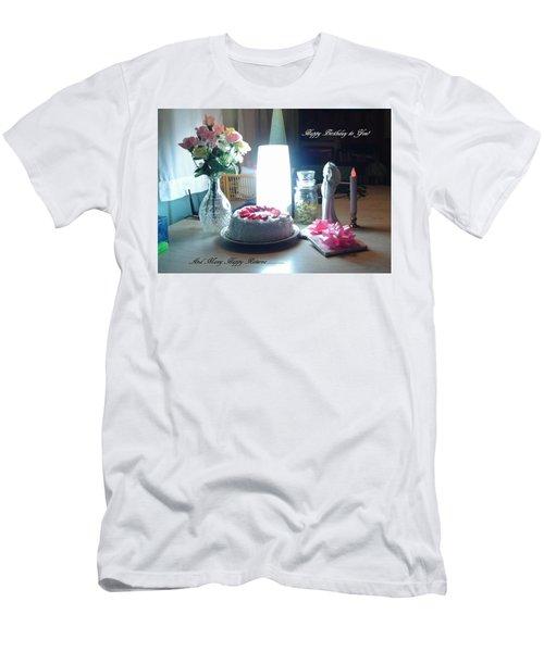 Happy Returns Men's T-Shirt (Athletic Fit)