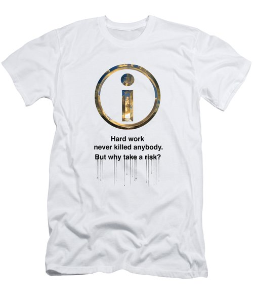 Hard Work Men's T-Shirt (Athletic Fit)