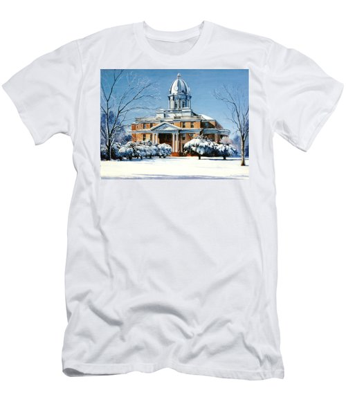 Hardin County Courthouse Men's T-Shirt (Athletic Fit)