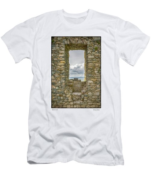 Harlech Cloud Men's T-Shirt (Slim Fit) by R Thomas Berner