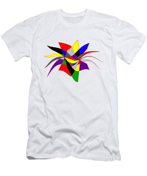 Harlequin Flower Men's T-Shirt (Athletic Fit)