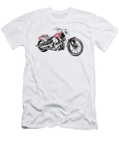 Harley-davidson Breakout - Parallel Hatching Men's T-Shirt (Athletic Fit)
