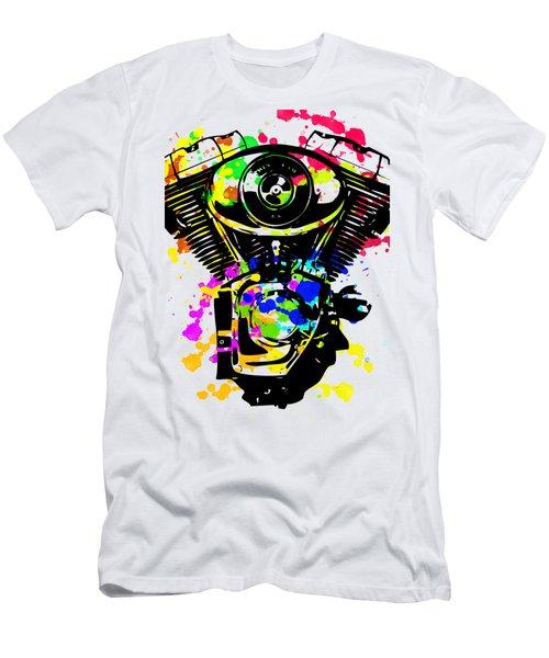 Harley Davidson Pop Art 5 Men's T-Shirt (Athletic Fit)
