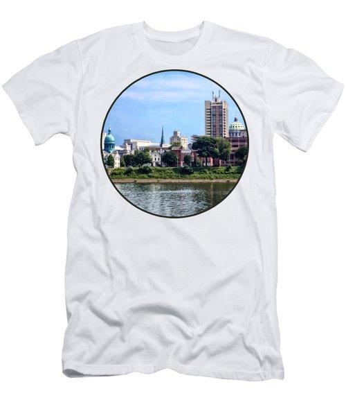 Harrisburg Pa Skyline II Men's T-Shirt (Athletic Fit)