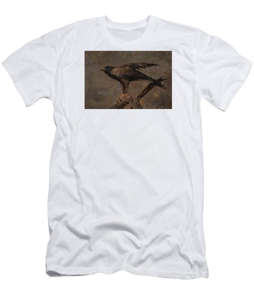 Harris's Hawk Men's T-Shirt (Slim Fit) by Barbara Manis
