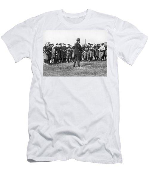Harvard Football Practice Men's T-Shirt (Athletic Fit)