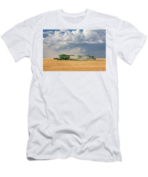Harvest Clouds Men's T-Shirt (Athletic Fit)