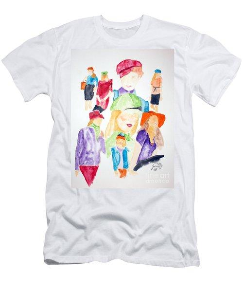 Hats Men's T-Shirt (Athletic Fit)