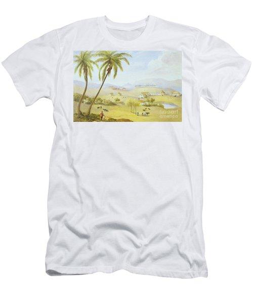 Haughton Court - Hanover Jamaica Men's T-Shirt (Athletic Fit)