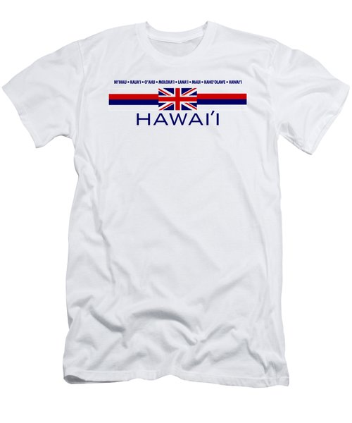 Hawai'i Men's T-Shirt (Slim Fit) by Jim Pavelle
