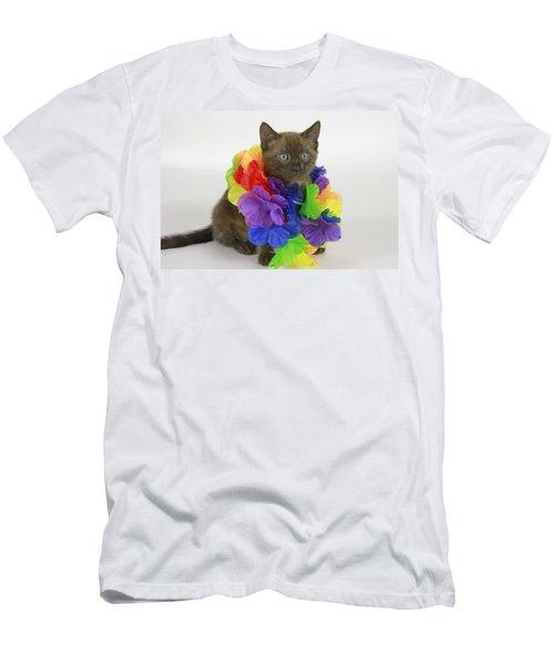Hawaiian Bengal Men's T-Shirt (Athletic Fit)