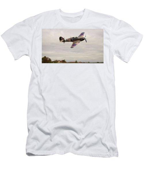 Hawker Hurricane -2 Men's T-Shirt (Slim Fit) by Paul Gulliver