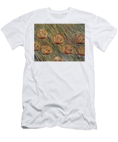 Hay Bales Men's T-Shirt (Athletic Fit)
