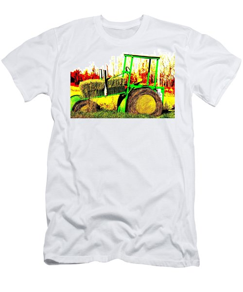 Hay It's A Tractor Men's T-Shirt (Athletic Fit)