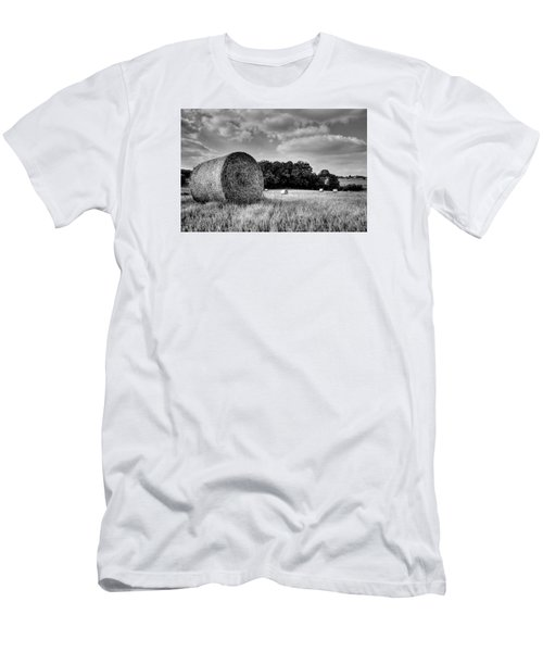 Hay Race Track Men's T-Shirt (Slim Fit) by Jeremy Lavender Photography