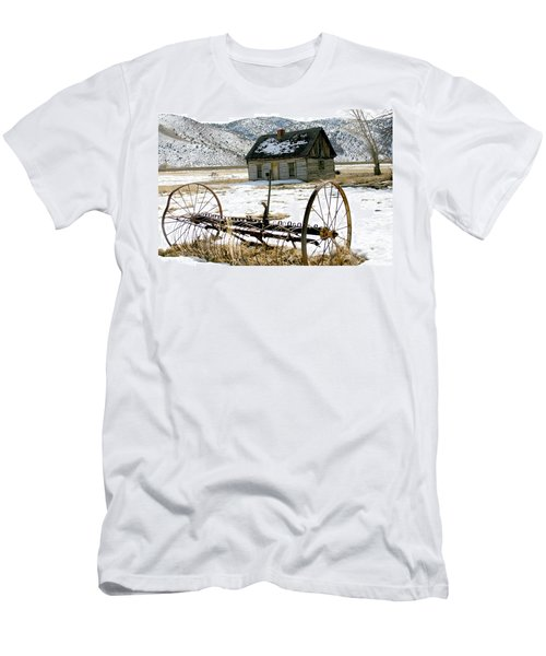 Hay Rake At Butch Cassidy Men's T-Shirt (Athletic Fit)