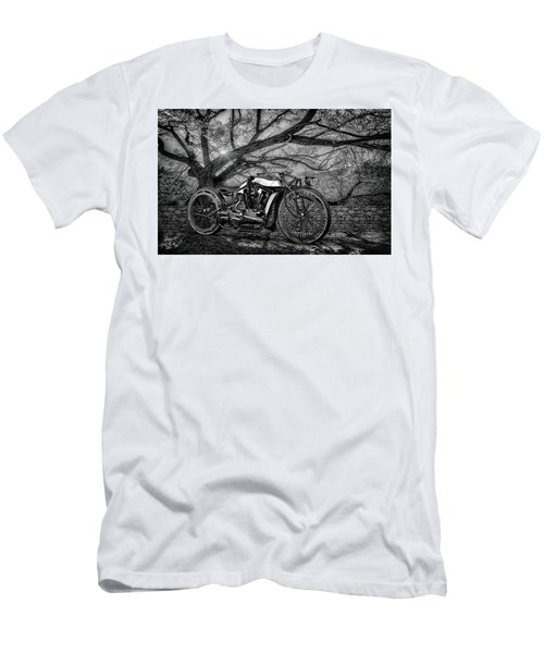 Men's T-Shirt (Slim Fit) featuring the photograph Hd Cafe Racer  by Louis Ferreira