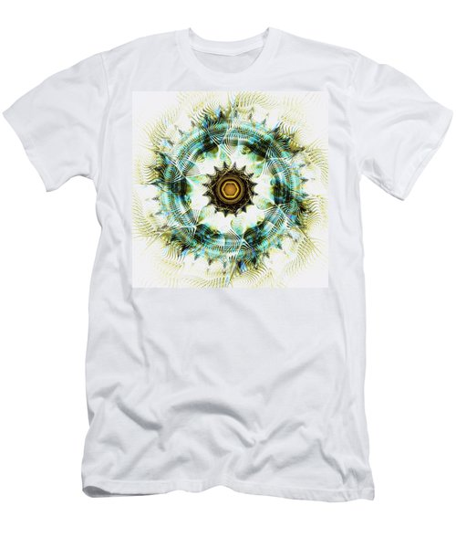 Men's T-Shirt (Athletic Fit) featuring the digital art Healing Energy by Anastasiya Malakhova