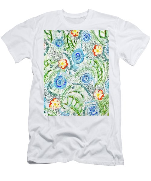 Healing Garden Men's T-Shirt (Athletic Fit)