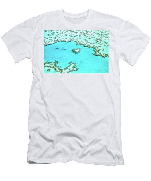Heart Of The Reef Men's T-Shirt (Athletic Fit)