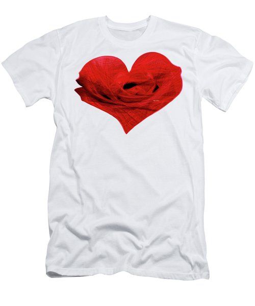 Heart Sketch Men's T-Shirt (Athletic Fit)