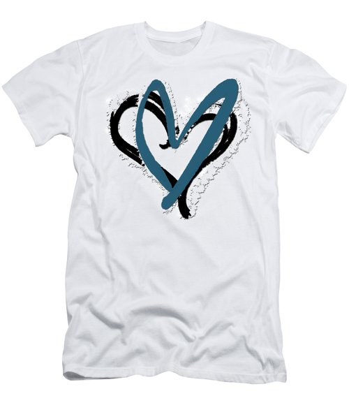 Hearts Graphic 8 Men's T-Shirt (Athletic Fit)