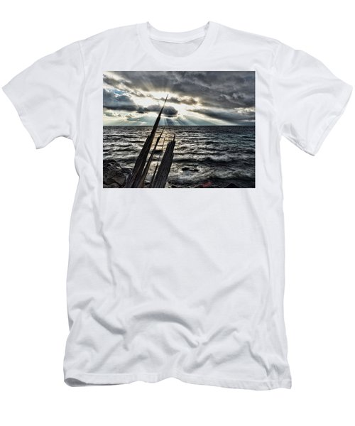 Heavenly Beams Men's T-Shirt (Athletic Fit)