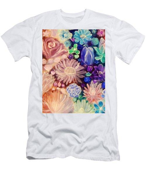 Heavenly Garden Men's T-Shirt (Slim Fit) by Samantha Thome