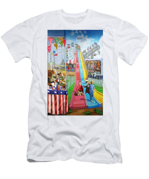 Hecksher Park Fair Men's T-Shirt (Athletic Fit)