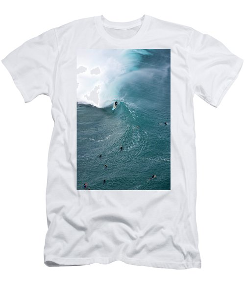 Tubed From Above. Men's T-Shirt (Athletic Fit)
