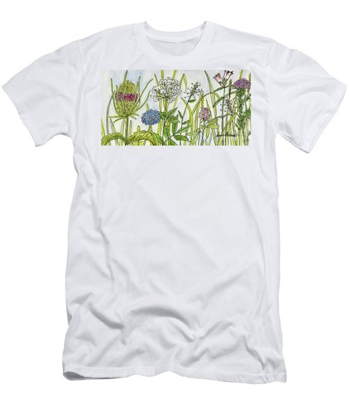 Herbs And Flowers Men's T-Shirt (Athletic Fit)