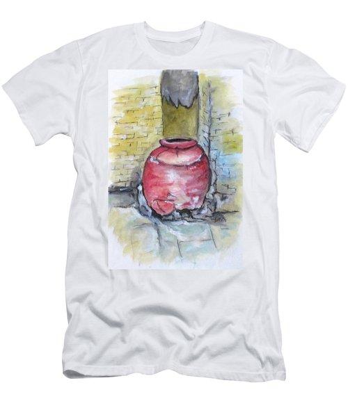 Herculaneum Amphora Pot Men's T-Shirt (Slim Fit)