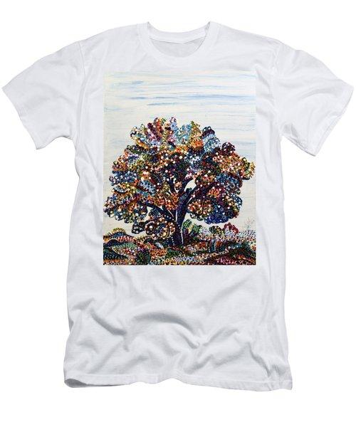 Heritage Men's T-Shirt (Slim Fit) by Erika Pochybova