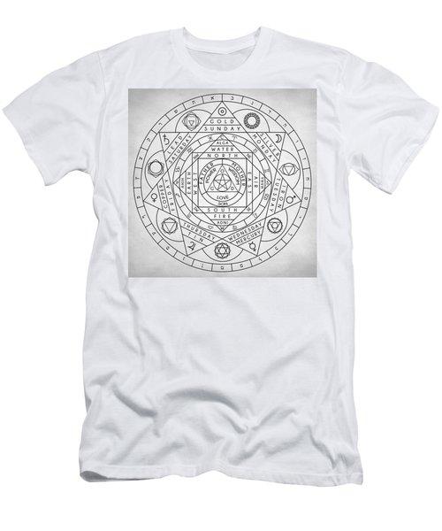 Hermetic Principles Men's T-Shirt (Athletic Fit)
