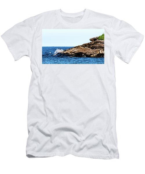 Herring Gull Picnic Men's T-Shirt (Athletic Fit)