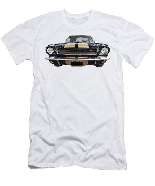 Men's T-Shirt (Slim Fit) featuring the photograph Hertz Rent A Racer Mustang 1966 by Gill Billington