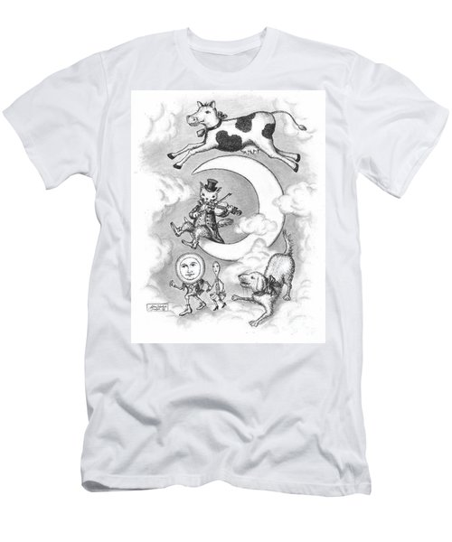 Hey Diddle Diddle Men's T-Shirt (Athletic Fit)