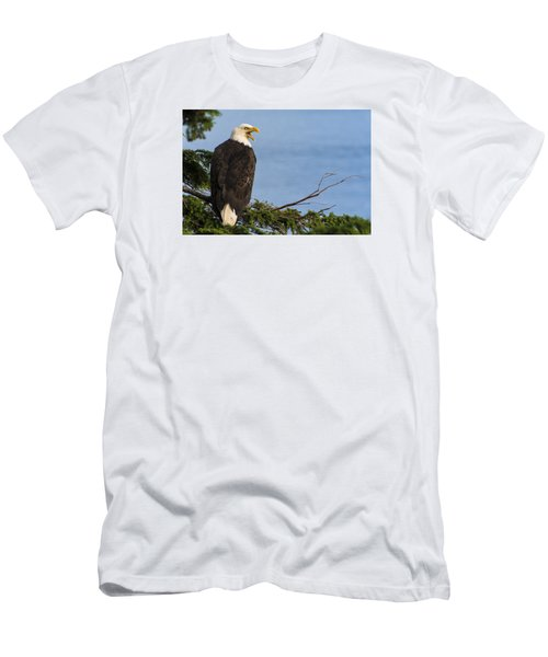 Hey Men's T-Shirt (Slim Fit) by Gary Lengyel