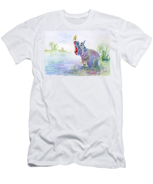 Hey Whats The Big Idea Men's T-Shirt (Slim Fit) by Amy Kirkpatrick