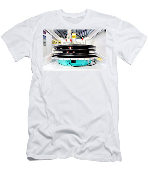 Hfir, Imagine Diffractometer Men's T-Shirt (Athletic Fit)