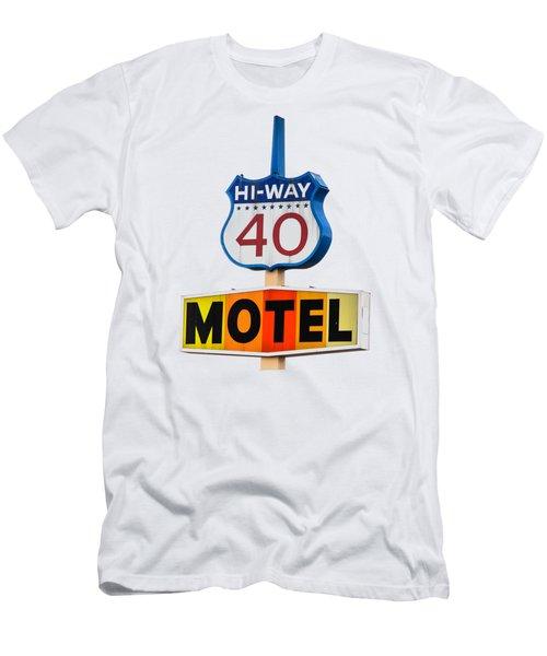 Hi-way 40 Motel Men's T-Shirt (Athletic Fit)