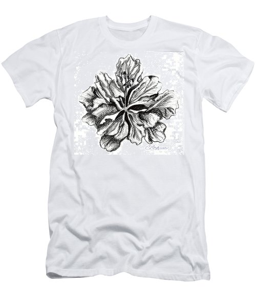 Hibiscus Bloom Men's T-Shirt (Athletic Fit)