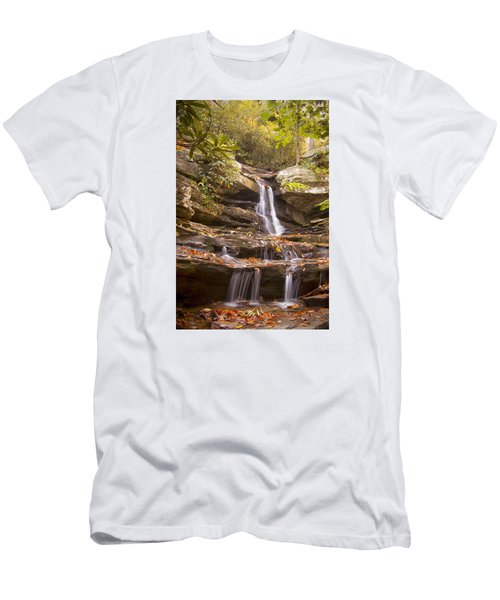 Hidden Falls Of Danbury, Nc Men's T-Shirt (Athletic Fit)