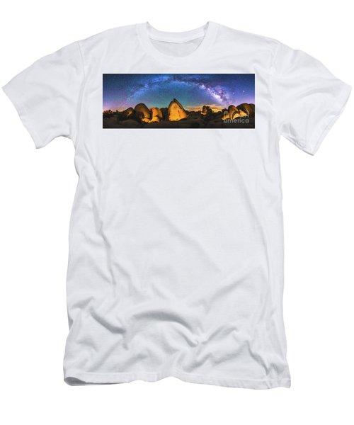 Hidden Valley Milky Way Men's T-Shirt (Slim Fit) by Robert Loe