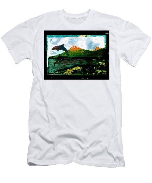 Hiding Your Love Men's T-Shirt (Athletic Fit)