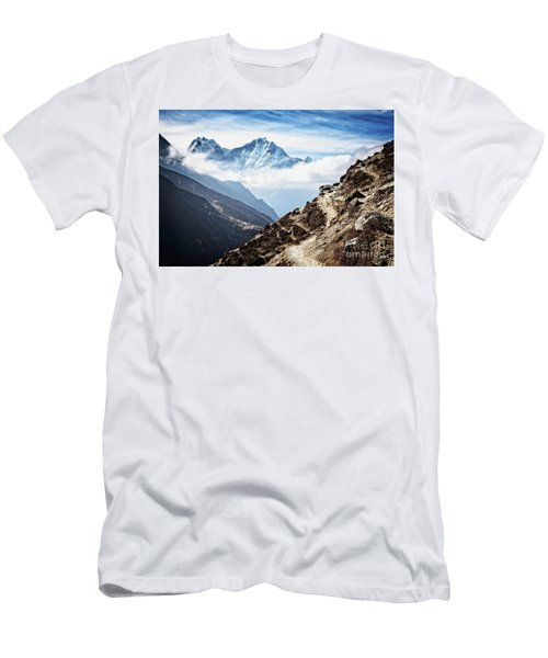 High In The Himalayas Men's T-Shirt (Athletic Fit)