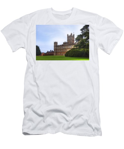 Highclere Castle Men's T-Shirt (Athletic Fit)
