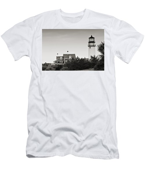 Highland Light At Cape Cod Men's T-Shirt (Athletic Fit)