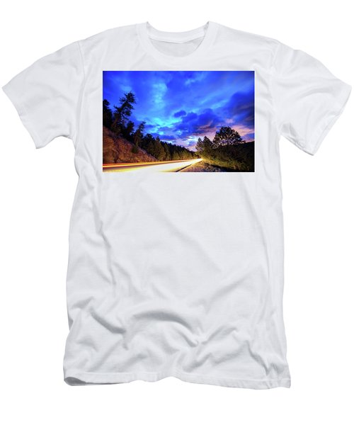 Highway 7 To Heaven Men's T-Shirt (Slim Fit) by James BO Insogna