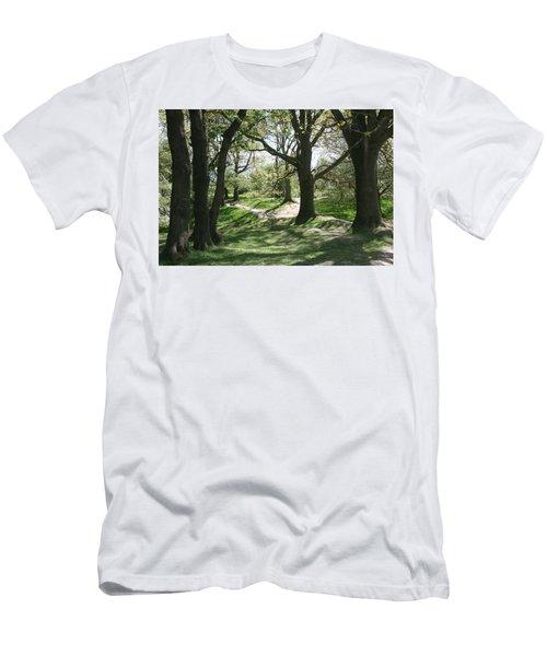 Hill 60 Cratered Landscape Men's T-Shirt (Athletic Fit)